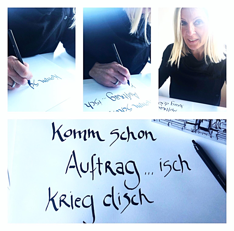 Schriftzüge von Claudia Küppers